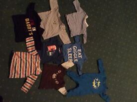 Up to 1 month baby boy clothes
