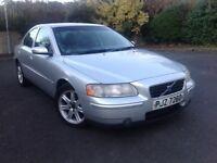Volvo 2005 S60 D5S 2.4, manual diesel, 4 door silver saloon, 161,000 miles £1000 ono