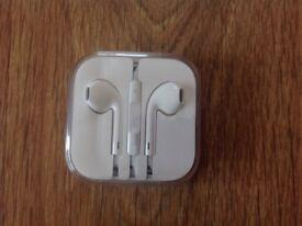 Brand new Apple iPhone headphones