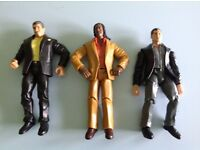 "Jakks Pacific WWE Wrestling 7"" Action Figures £1 for all 3"