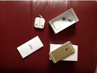 Gold iPhone 6 - 16Gb as new