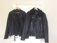 Assortment of Men's Leather Jackets and Coats