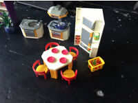 Playmobil house and furniture