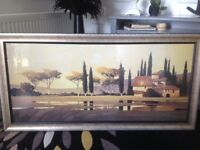 Tuscan Rain,framed print