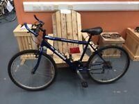 Magna Grand Ledge Men's Mountain Bike. (Blue)