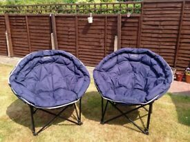 Quest Elite Large Moon Chairs.