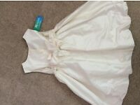 Beautiful, never worn flower girl dress