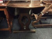 Vintafe dropleaf dining table