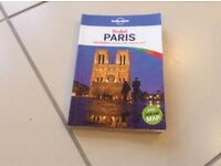 Lonely Planet Pocket Paris book. Excellent book and easy to carry round.