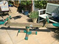 TP Forest Wooden Rotating See Saw