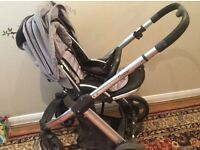 Oyster pushchair with car seat