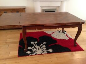 French Oak extending dining table. 1920's.