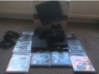 Playstation3 with 8 games PS3.