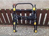 Rear mounted bike rack