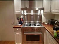 Bosch range solitaire cooker with cooker hood