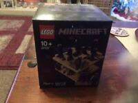 BNIB Lego Minecraft The End very rare