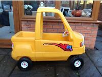 Little Tikes Yellow Truck, very good condition