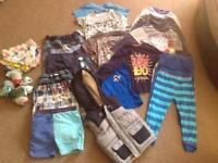 Big bundle of boys clothes 3-4 and 4-5 years