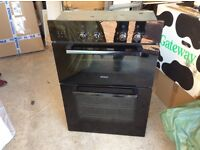 BOSCH black electric double oven (the BOSCH gas hob available soon)
