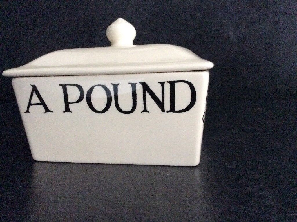 Emma Bridgewater butter dish container. Perfect condition never used.