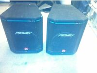 peavey hysis 1 xt speakers with stands