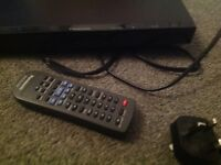 Fully working panasonic DVD player with conctroller