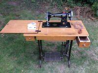 Singer treadle sewing machine in working order