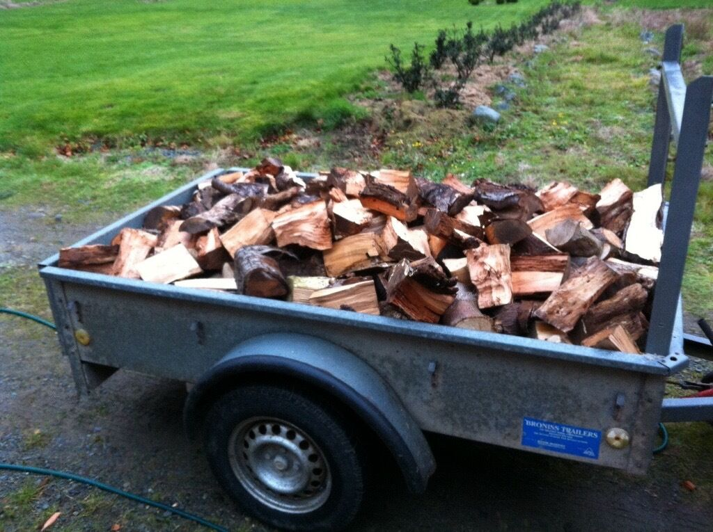 Firewood firewood log logsin Newcastle, County DownGumtree - Firewood for sale 6x4 trailer load, well seasoned, softwood, £40 delivered within Newcastle County Down area
