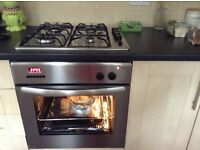 Oven gas hob cooker hood halogen lights