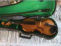 A. Zeller 3/4 size violin