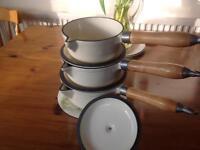 Cast Iron saucepans