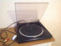 Hitachi Linear Tracking Record Turntable