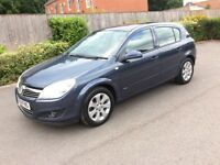 46000 Low Miles Vauxhall Astra 2008 1.4 5drs Low Mileage Long MOT Climate Control 1 Owner