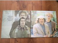 For sale 2 Simon and garfunkel lp records £13 ono