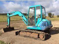 Kubota K040 excavator