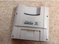 SNES Super Gameboy adaptor. Cheaper than anywhere else online.