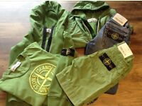 Age 3/4 x6 pieces of STONE ISLAND clothing excellent condition. Ideal to mix & match!