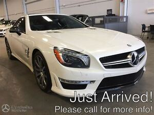 2013 Mercedes-Benz SL63 AMG Premium & Advance Drive Assist w/MAG