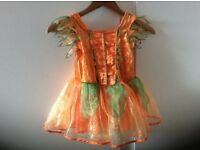 Girls dress up dresses size 5-6 years