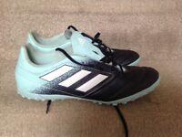 Men's Adidas aqua/navy astro turf trainers UK size 12