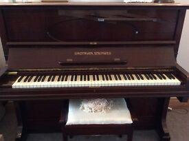 Grotrain Steinweg Upright Piano