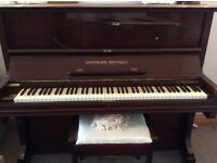 Grotrain Steinweg Upright Piano