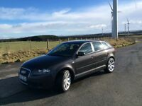 AUDI A3 1.9 TDI 5 DOOR SPORT BACK 2007