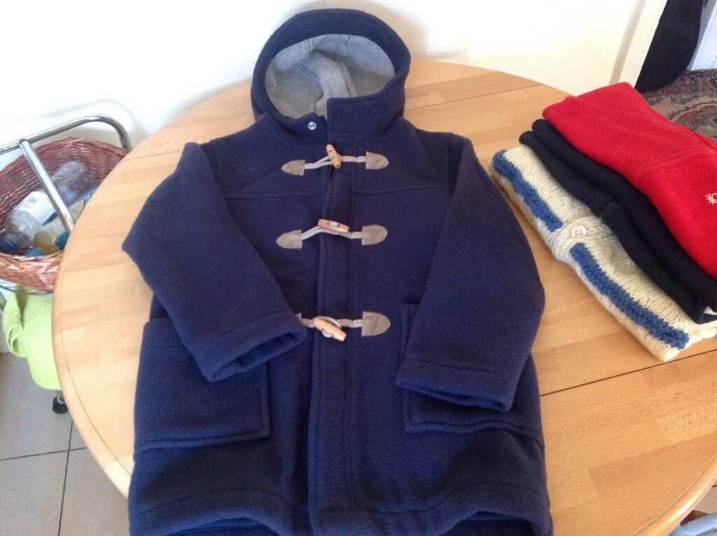 Wool Benetton coat for 6 years old