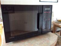 Toshiba heavy duty microwave