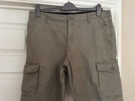 M&S Men's Khaki Shorts