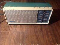 Vintage retro Stella Radio in working order.