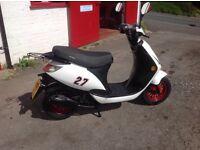 2015 Sinnis street 50cc scooter