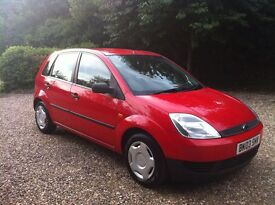 Ford Fiesta finess 1.25 91000 miles