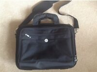 REDUCED- Large black Dell briefcase, barely used